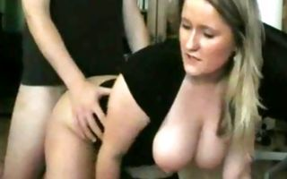 Painful sex with nasty ex-girlfriend with adorable breasts