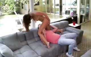 Fantastic stepsister Adriana Chechik sucking powerful ramrod