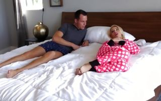 Hot stepsister Bella Rose has deep sex with horny stepbrother