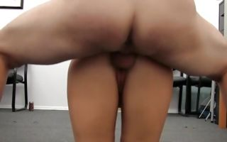 Painful sex with marvelous light-haired ex-girlfriend Stacey