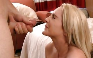 Sweet light-haired girlfriend Tay roughly fucked in pussy