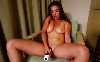 Watch my GF with hot face insanely swallowing big knob