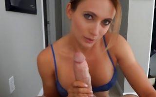 Watch my GF Alyssa Germeroth deeply sucking big knob
