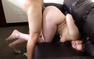 Marvelous ex-girlfriend Autumn sucking rod after painful sex