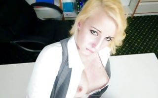 Awesome blonde girlfriend Darcie Belle has insane sex