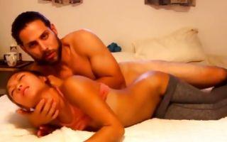 Innocent Asian ex-girlfriend has deep passionate sex