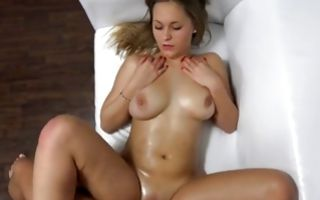 Sexy young ex-girlfriend Katerina cruelly fucked in pussy