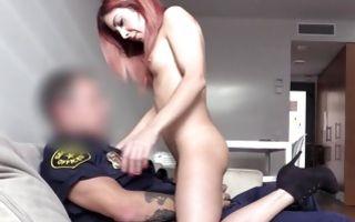 Cute slut Chiki Dulce has sensual sex with horny cop