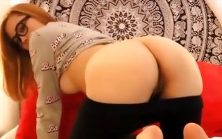 Pretty cute asian amateur gets throated and rides in porn