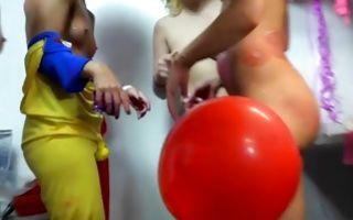 Perfect lesbian sex party with hot amateur slut Gia Paige