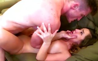 Mouthwatering Bambi Brooks lovingly moaning having sex with bf