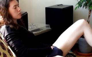 Watch my girlfriend pleasuring herself on lonely days